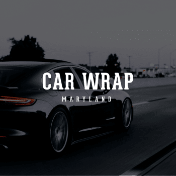 Car wrap maryland web designer